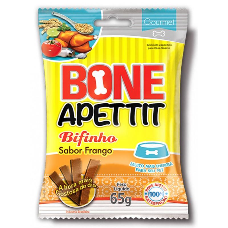 Bifinho Bone Apettit Frango 65g