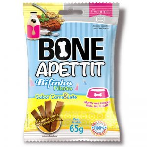 Bifinho Bone Apettit Carne e Leite 65g