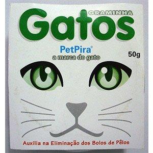 SEMENTE GRAMINHA P/GATOS 50G