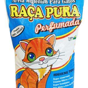 Areia de Gato Raça Pura Perfumada