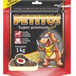 Bifinho Carne 1kg/Petitos
