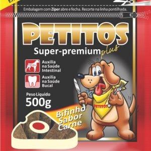 Bifinho Carne 500g/Petitos