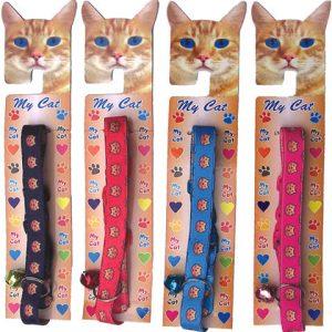 Display Coleira Gato Elástica com 7 un.