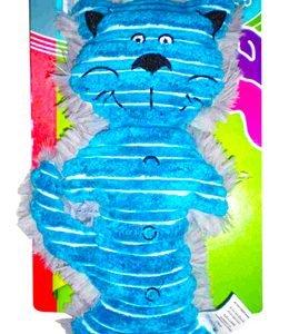 Gato Azul de Pelúcia c/ Apito